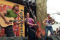Jigzag in action at the National Folk Festival