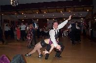 Kellie & Lawrie dancing at the GDS Ball